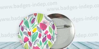 Création de badge personnalisé et idée pour customiser des goodies