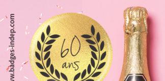 Faire badge pour anniversaire