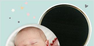 magnets naissance personnalisés