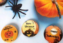 Badge soirée Halloween
