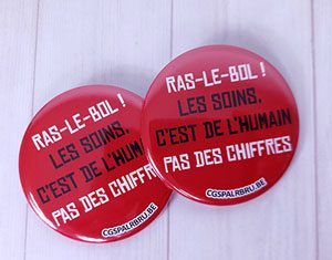 Faire de badges pour une manifestation ou soutien