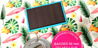 Magnet frigo personnalisé rond ou rectangulaire, décapsuleur porte clé en 56mm