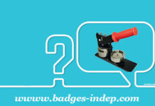 Machine à badge et presse à badge professionnel