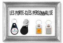 Porte clé métal et jeton caddie personnalisé