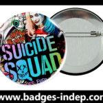 Badge épingle personnalisé pour film