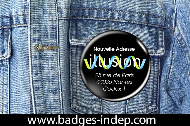 Badge professionnel entreprise