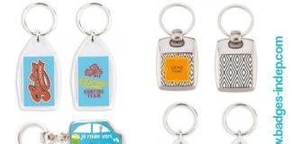 Porte clef personnalisable rond ou porte clé original