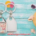 Porte clef original personnalisable avec photo