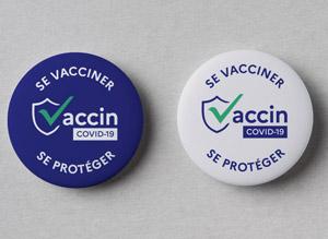 badge vaccin covid-19