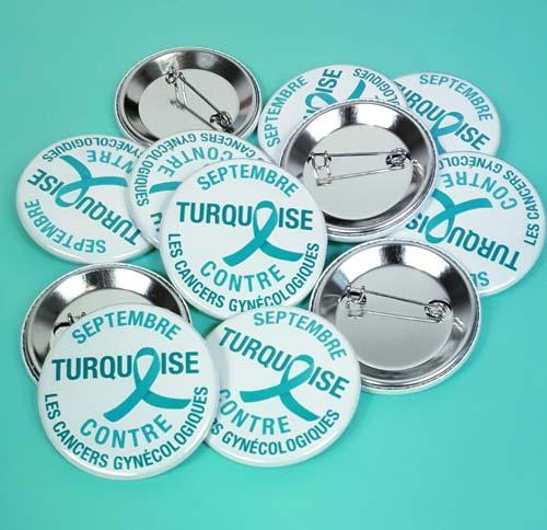 badge contre le cancer